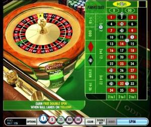 Double Spins Bonus Roulette